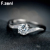 ZENI 925 sterling silver cz diamond women wedding gold diamond ring diamond for women wedding