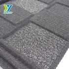 Black Roofing Shingle Stone Coated Metal Roof Tile / Steel Roofing Tile