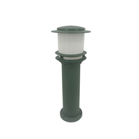 Waterproof aluminum led lawn night light bollard lamps