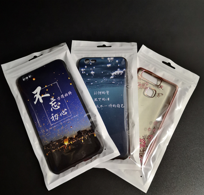 Mobile accessories ziplock bags wholesale plastic bags for mobile phones