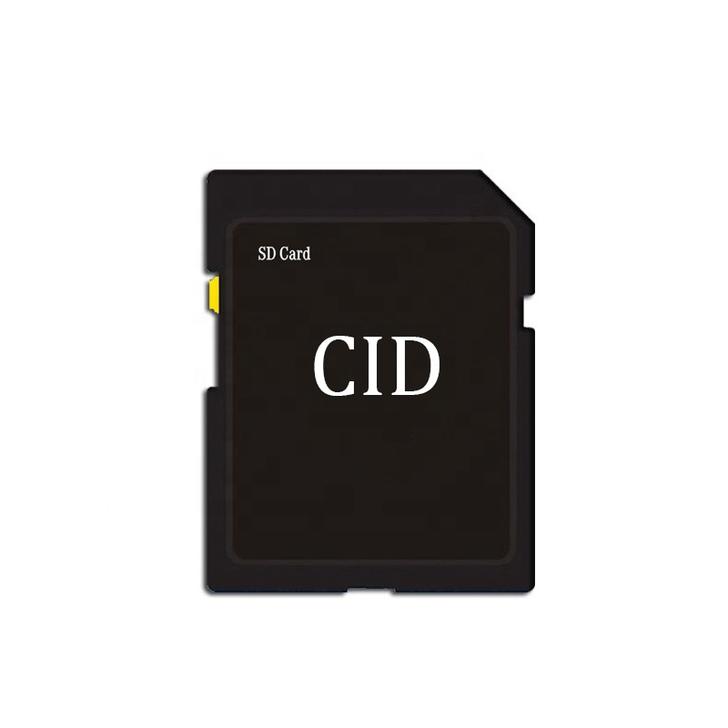 Standard Secure Digital SD Memory Cards 64GB with Custom CID