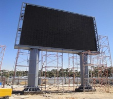 China Hersteller hohe helligkeit led display/TV/<span class=keywords><strong>schild</strong></span>/wand video outdoor-led-display/big screen led video wand