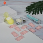 A037B Low MOQ soap paper facial patches candles promotional item back to school novelty customised christmas gift for children
