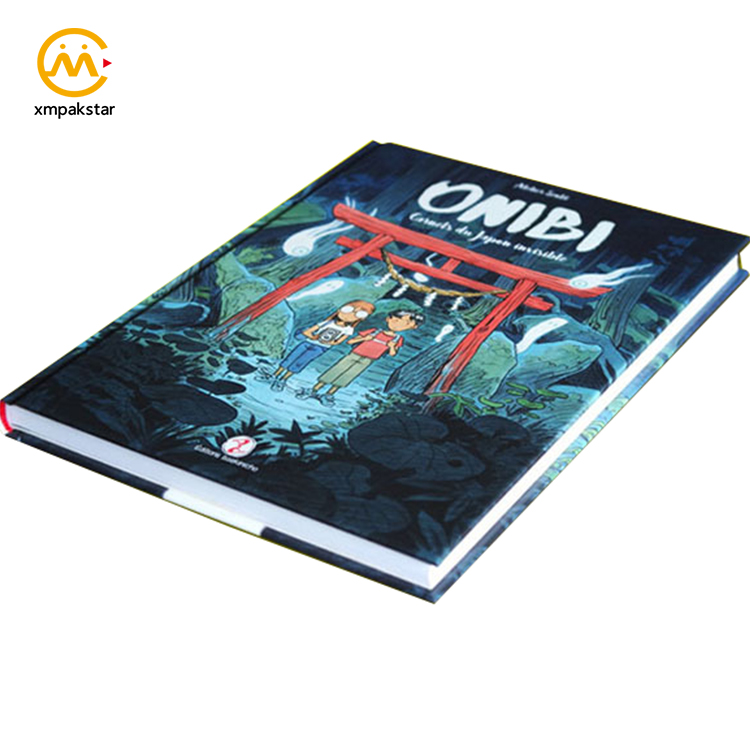 Custom wholesale full color offset printing hardcover comic book print