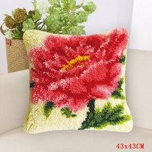 Smyrna Foamiran Большой Крючок для цветов, для рукоделия, ковер, вышивка, подушка, кнопки, посылка, наборы сделай сам(Китай)