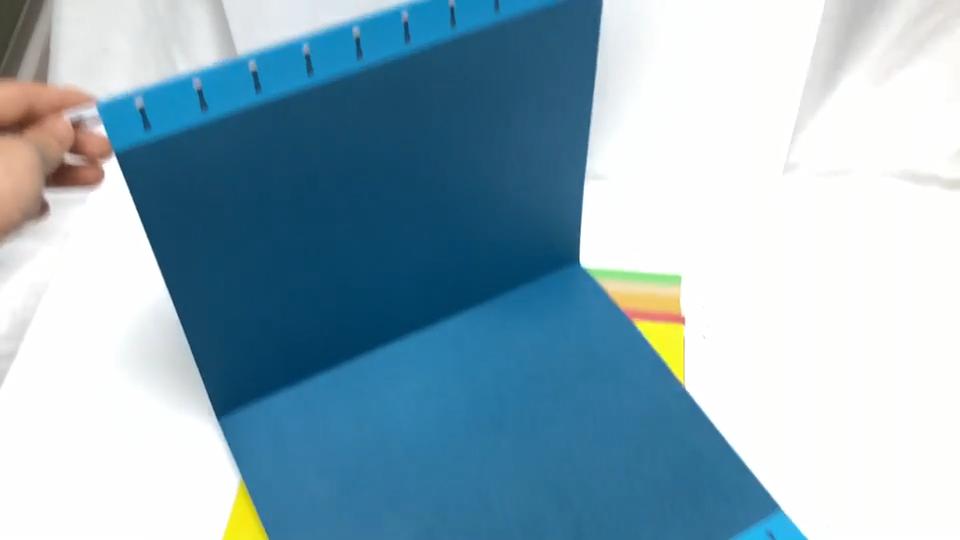 कस्टम A4 कागज फांसी फ़ाइल धारक निलंबन फ़ाइल फ़ोल्डर दस्तावेज़ फ़ोल्डर