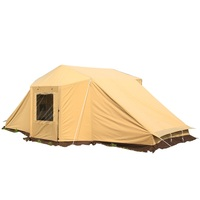 fashionable new designed alltel one bedroom double ultralarge family tent for outdoor hiking