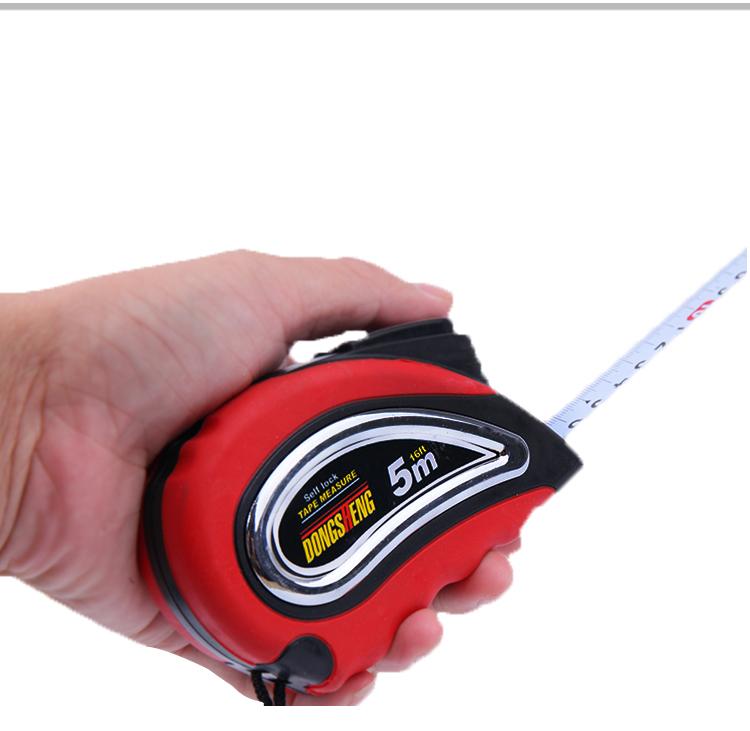 5 m Self-lock retractable Métrique pouces Ruban à mesurer mesure outil