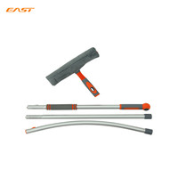 EAST new curved window cleaning wiper with long handle