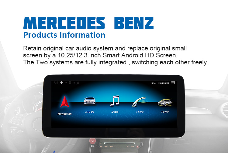 Octa core Android Car audio navigation für Mercedes Benz B Klasse B200