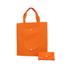 Wholesale Promotional Cheap oem Color and Folding Style non woven tote bags