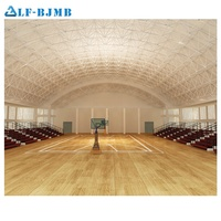Xuzhou LF Steel space frame structure prefabricated function hall for wedding exhibition conference assembly sports