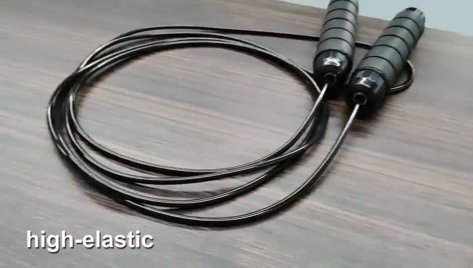 Amazon Hot Sale  Fitness Weighted Skipping Rope Pvc Speed Jump Rope Home Gym Workout Skipping Rope Fitness