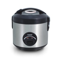 new type rice cooker with stainless steel body 1.0L mini deluxe rice cooker