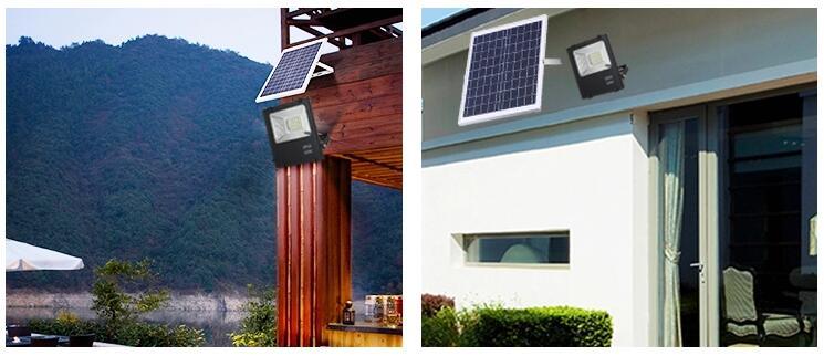 IP65 Solar LED Flood Light Outdoor Solar LED Parkir Flood Light Lampu Daya Lampu Tenaga Surya