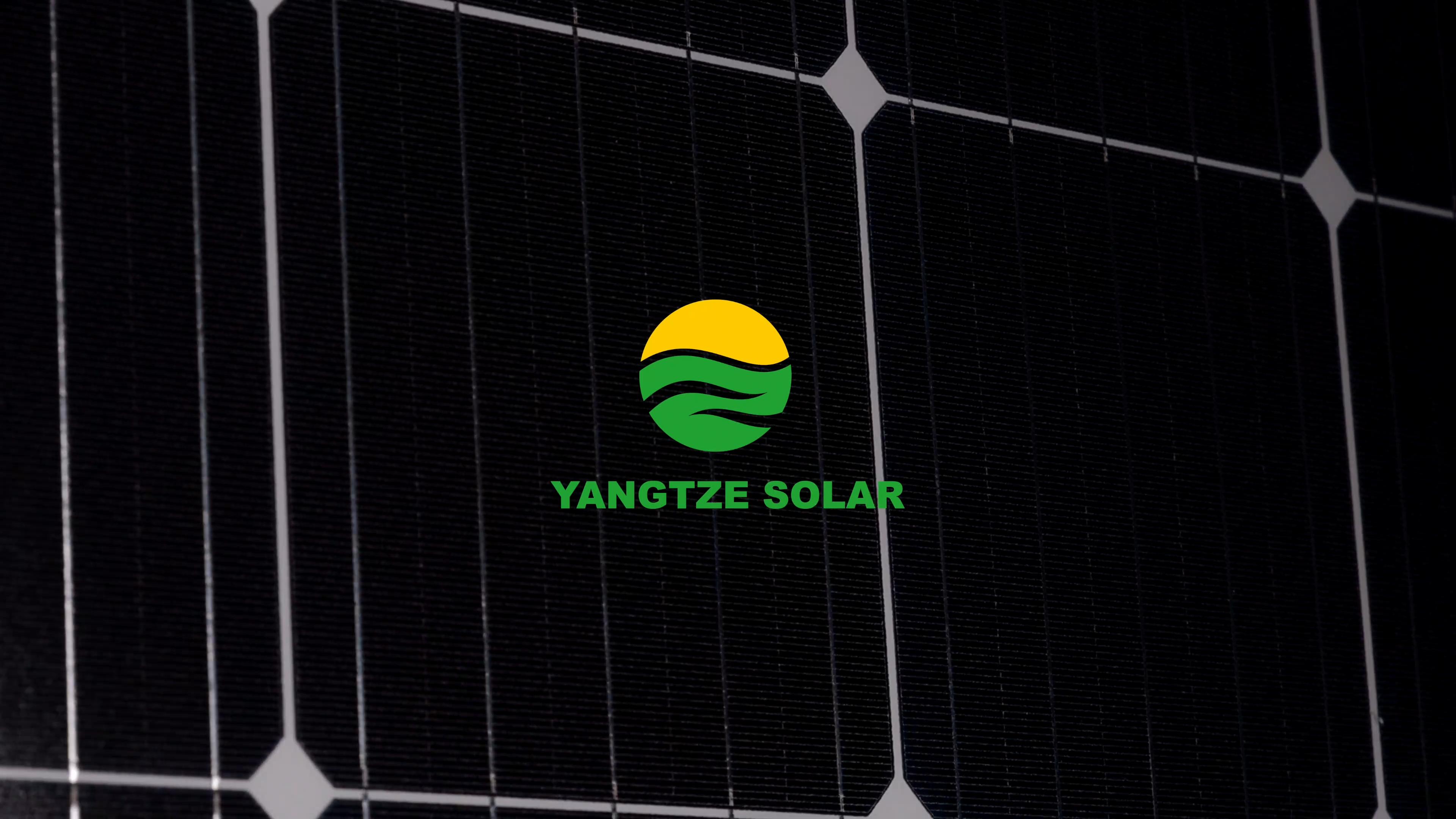 Yangtze 25years warranty 365w 370w 380w solar power panel