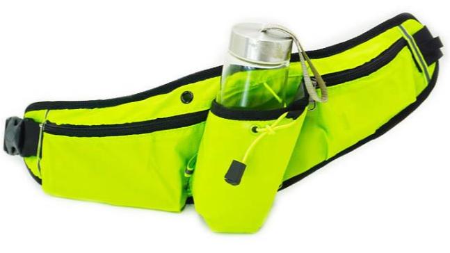 רעיוני פאני ריצת פאוץ מים בקבוק מחזיק מותן תיק לשני המינים חיצוני ספורט חבילת מותניים תיק