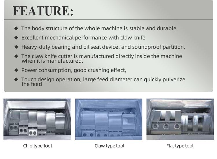 ماكينة تكسير بلاستيك عالية الكفاءة من النوع الجديد للبلاستيك المعاد تدويره