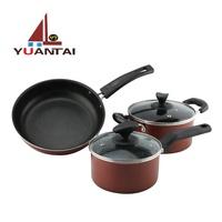 Custom cooking pot cookware stainless steel pans sets Cooking Pot Set Cookware pots