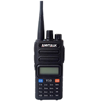 Handheld am fm portable radio high quality best price two way walkie talkie V10 AM air band radio