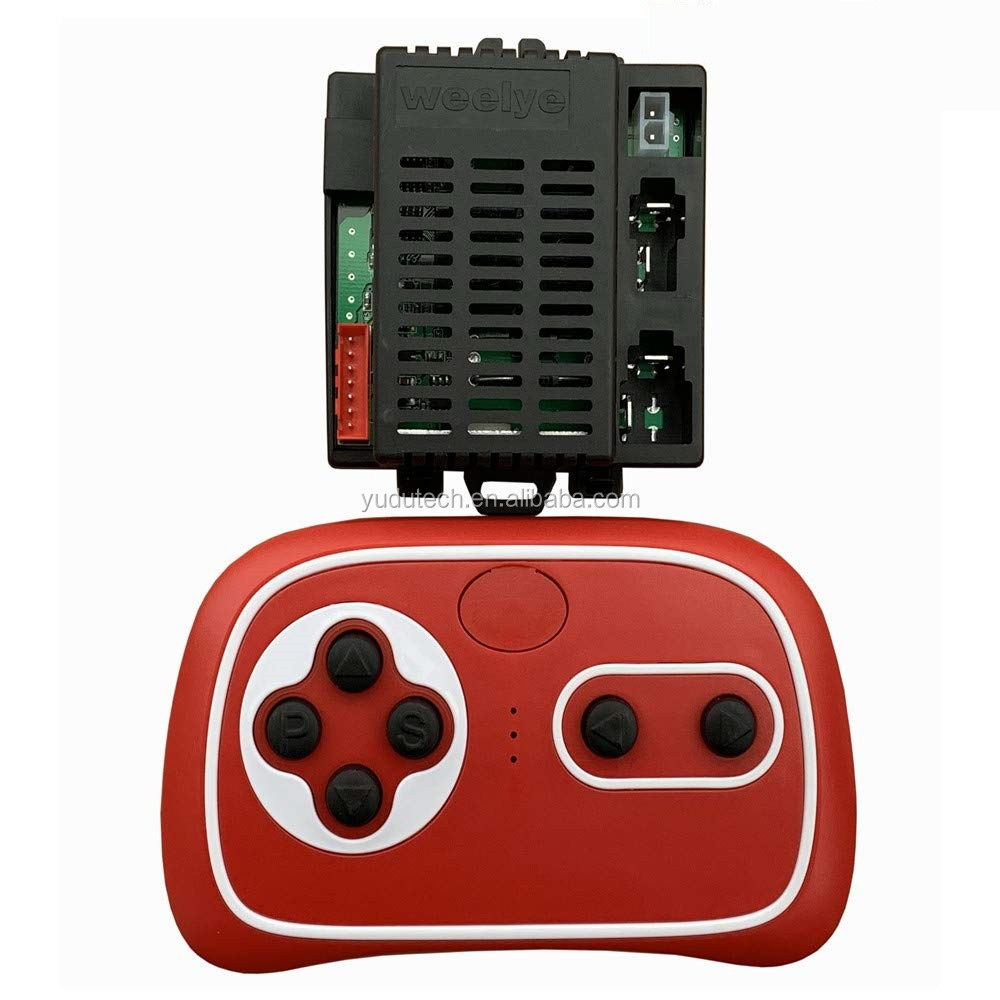 WELLYE RX18 Children Ride On Toy Car 2.4G Bluetooth Remote Control and Receiver Kit Remote Controller Control Box Accessories for Children Electric Ride On Toys Car Replacement Parts