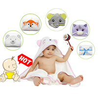 Personalised Oeko-tex New Born Baby Washcloth Set Product Bamboo Hooded Towels For Baby Made In Turkey