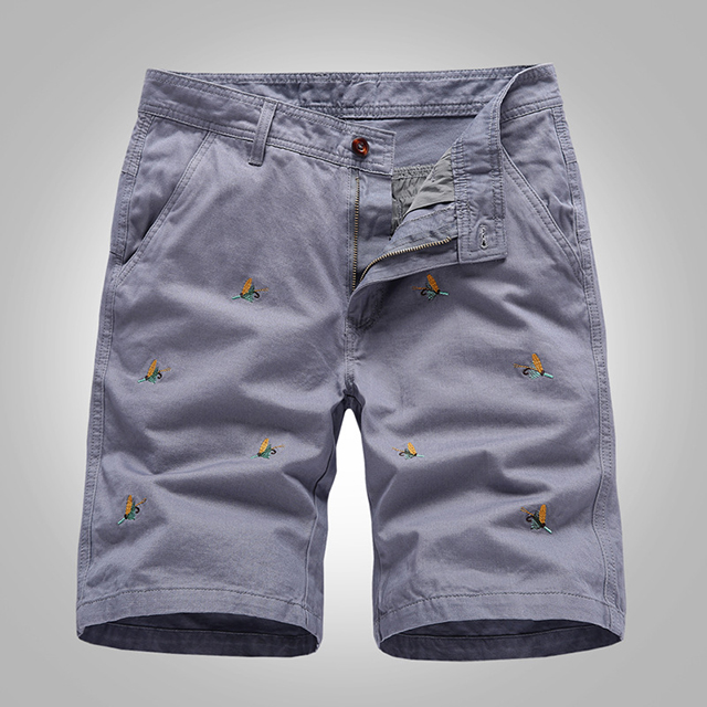 High quality Fashion Men molecule casual cargo shorts colorful