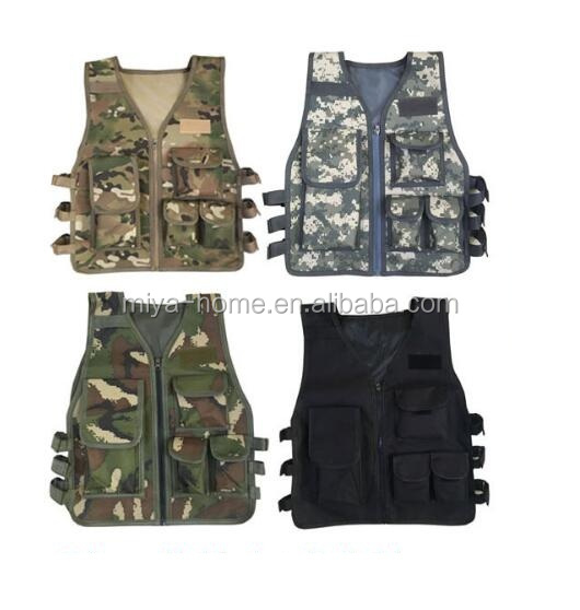 High quality army fan outdoor sports camouflage vest / children and adult vest clothing / tactical vest
