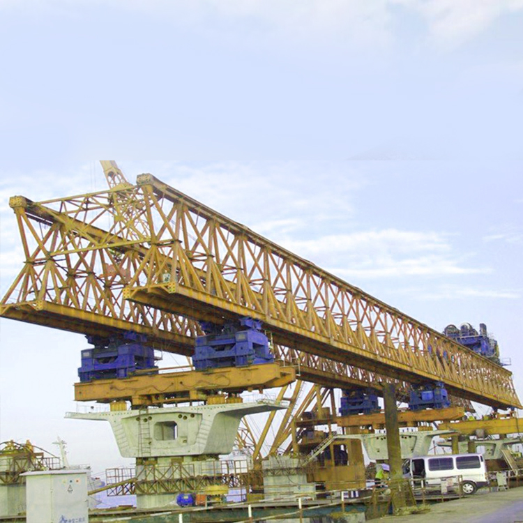 Beam Installation Highway Bridge Launcher 5 Ton~750 Ton