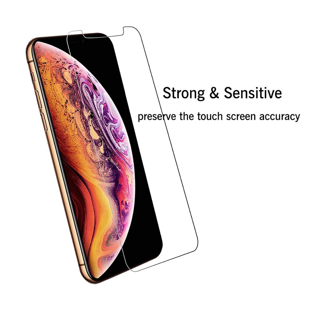 2019 New 6.5 Inch 9H Clear Premium Glass For Iphone 11 Pro Max Tempered Glass Screen Protector 2 Pack Amazon