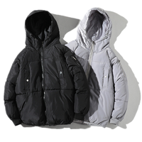 New Stlye Men's Hoodie Winter Puffer Padded Jacket