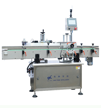Sticker label labeling printing machine for cans/plastic bottle