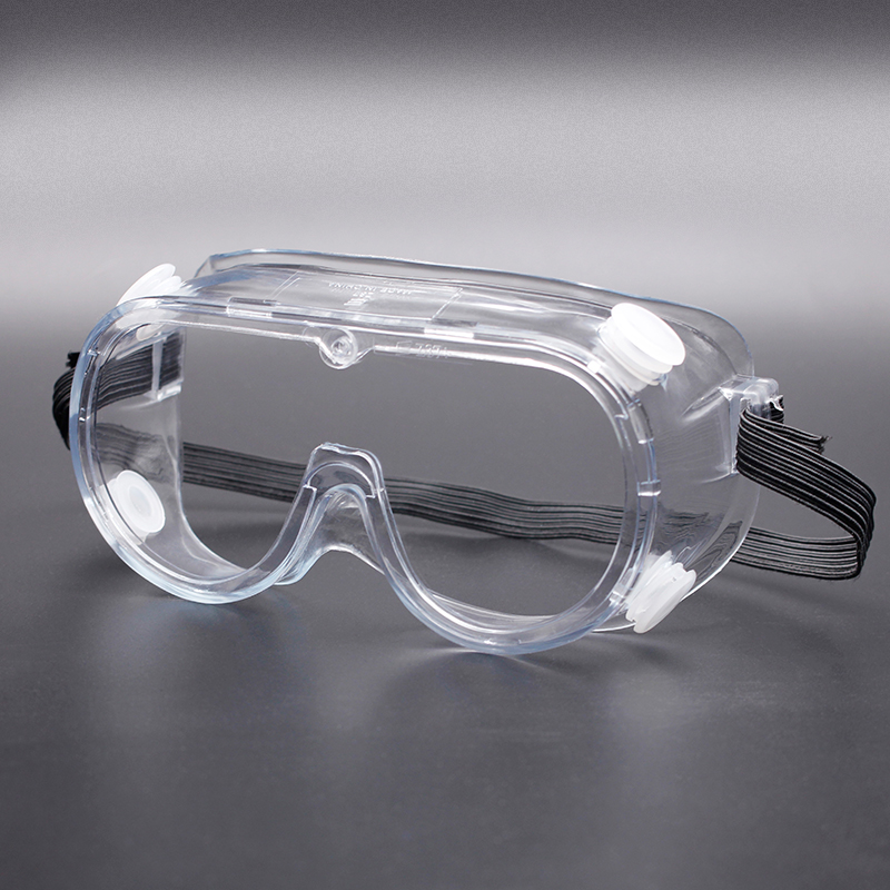 Anti Saliva Fog EN166 ANSI Z87.1 Safety Glasses Goggles Clear Eye Protective Goggles for Medical Use