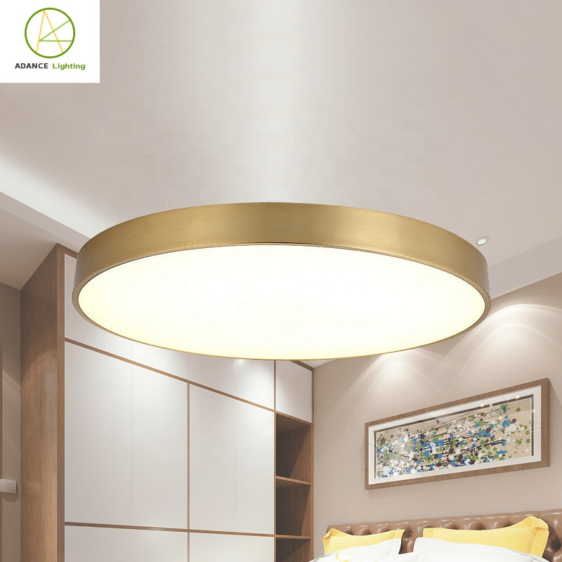 Advance lighting original factory Led copper fixtures 12W 20mm Ceiling light modern ceiling light