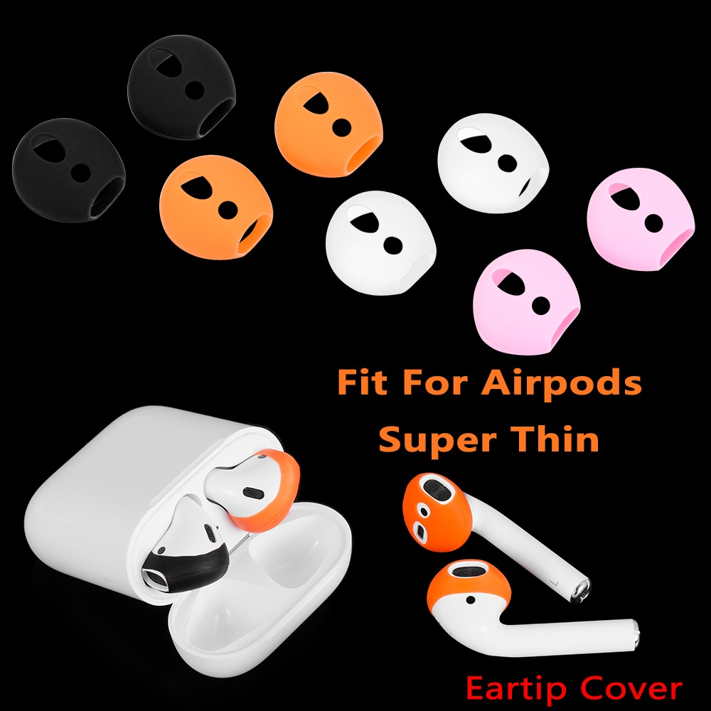 1 Pair Anti-Slip Ear Tip For Airpods Silicone Ear Hooks Cover