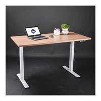 Electric Lifting Height Adjustable Sit Stand Office Home Desk