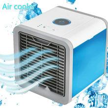 Мини-вентилятор для кондиционера с USB, портативные кондиционеры Arctic, комнатное охлаждение, светодиодный светильник 7 цветов, кулер, маленьки...(Китай)
