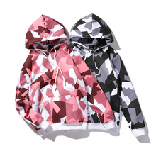 Hot Selling Fashion Design Custom Logo 100% Katoen Ademend Camouflage Hoodie <span class=keywords><strong>Camo</strong></span> <span class=keywords><strong>Hoodies</strong></span>
