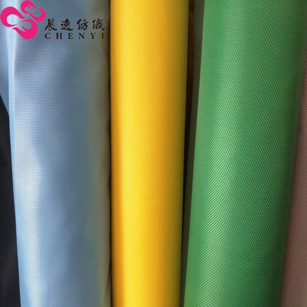 200d 300d 420d 600d pu coated polyester waterproof oxford fabric