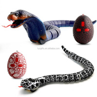 Hot Sale Snake Simulation Rattlesnake 4 Colors IR Infrared Remote Control Realistic Snakes USB Rechargeable Prank Toy For Kids