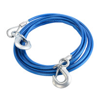 Hot sell cheap 5m 5 tons towing rope strap with hook for car