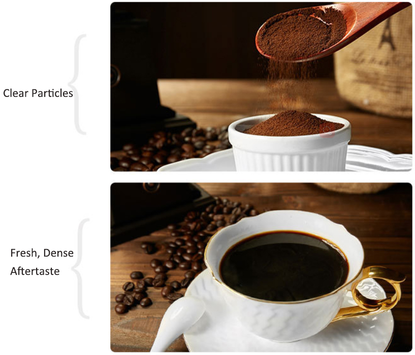 OEM Spray Dreid Pure Price Instant Organic Black Coffee Powder in Bulk