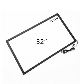 Hight quality factory direct supply 32 inch ir touch screen customized interactive screen frame