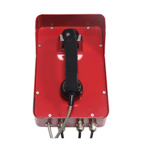 Security systems telephone armoured cable landline phone factory payphone booth railway telephone