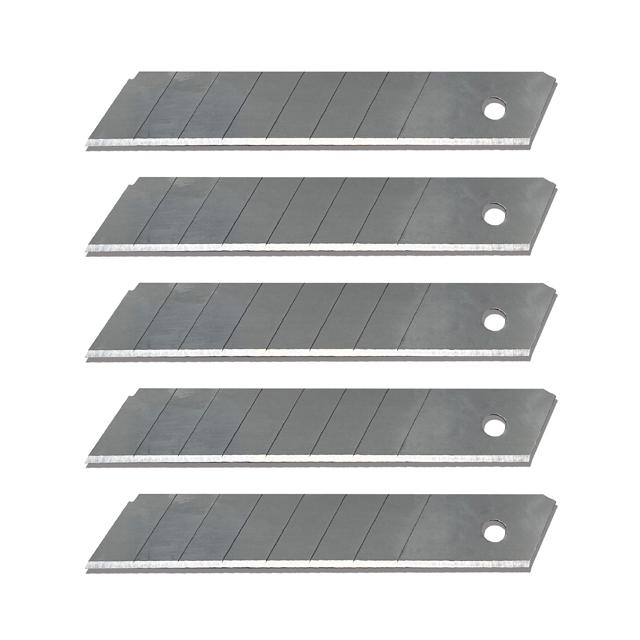 carbon steel 18mm snap blade aluminium cutter blade utility knife cutter blade