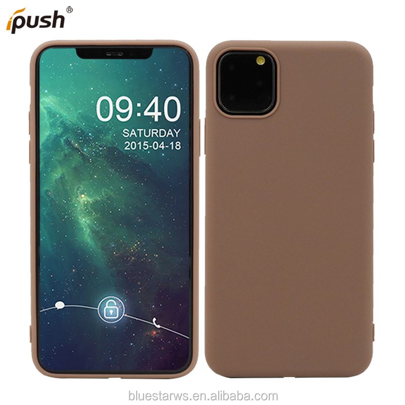 Hot selling Shockproof Phone Case Matte Soft TPU Cell Phone Cover Case For IPhone 11