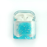 2020 NEW Liquid Wireless Earphone Glitter Case For Airpods Transparent Headphone Protect Cover