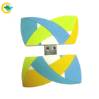 Business gift USB Flash Drive 4gb 8gb 16gb 32gb drives with Custom corporate logo Soft PVC 2D USB flash drive 3.0
