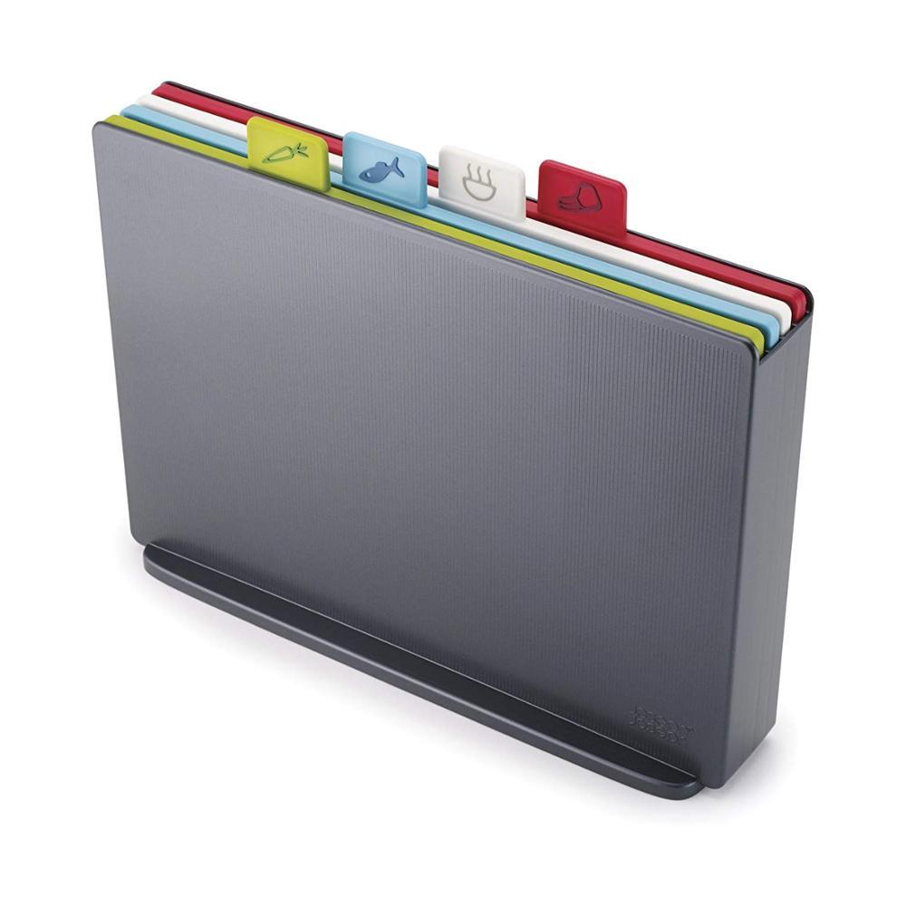 기존 낮은 MOQ 다채로운 4 PCS 플라스틱 유연한 주방 용