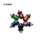 Colorful Aluminum Anodized Hex Socket Button Head Cap Drive Screws for Rear Frame Motorcycle